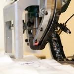 Automatická drukovačka, detail
